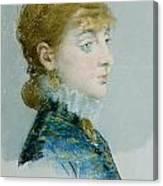 Mademoiselle Lucie Delabigne Canvas Print