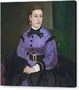 Mademoiselle Sicot Canvas Print