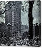 Madison Square And The Flatiron Building Canvas Print