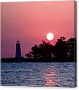 Madisonville Lighthouse Canvas Print