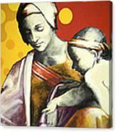 Madona Canvas Print