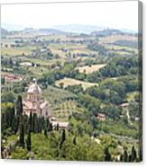 Madonna Di San Biagio Tuscany Canvas Print