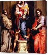 Madonna Of The Harpies Canvas Print