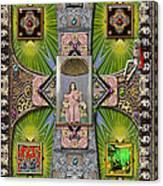 Madonna Of Valladolid Mexico Canvas Print