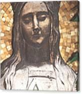 Madonna Praying Canvas Print
