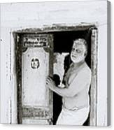 Madras Man Canvas Print