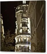 Madrid At Night Canvas Print
