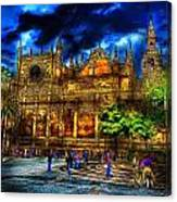 Madrid Gothic Canvas Print