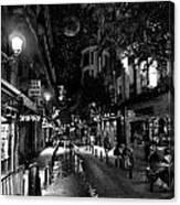 Madrid Side Street Canvas Print