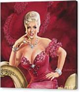 Mae West Canvas Print