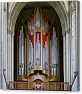 Magdeburg Cathedral Organ Canvas Print