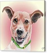Maggie Former Shelter Sweetie Canvas Print