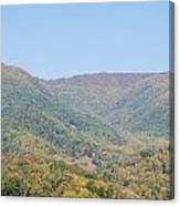 Maggie Valley In The Fall Canvas Print