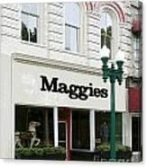 Maggie's Canvas Print