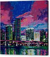 Magic City Canvas Print