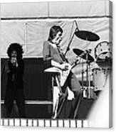 Magic Dick And J. Geils In Oakland 1976 Canvas Print