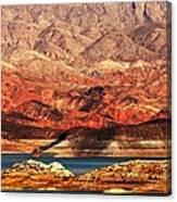 Magic Hour At Lake Mead  Canvas Print