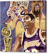 Magic Johnson Canvas Print