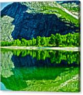 Magic Kobvatnet Norway. Time To Remember. Canvas Print