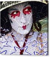 Magic Lady Goddess Canvas Print