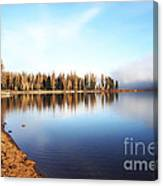 Magic On Seeley Lake Canvas Print