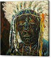 Magic Powers,  Native American Indian Chief Canvas Print