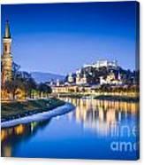 Magic Salzburg Canvas Print