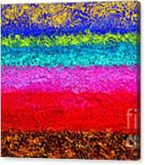 Magic Sunrise - Abstract Oil Painting Original Metallic Gold Textured Modern Contemporary Art Canvas Print