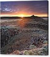 Sunrise South West Iceland Canvas Print