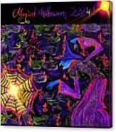 Magical Halloween 2014 V3 Canvas Print
