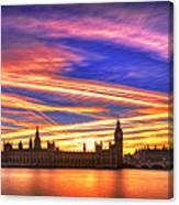 Magical London Canvas Print