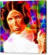 Magical Princess Leia Canvas Print