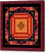 Magical Rune Mandala Canvas Print