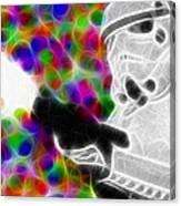 Magical Storm Trooper Canvas Print