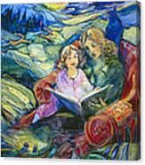 Magical Storybook Canvas Print