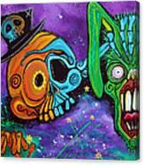 Magician De Los Muertos Canvas Print