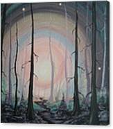 Magicle Forest Canvas Print