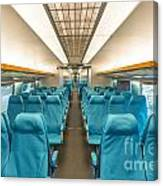 Maglev Train In Shanghai China Canvas Print