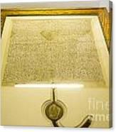 Magna Carta Canvas Print