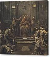 Magnasco, Alessandro 1667-1749 Canvas Print