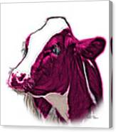 Magneta Cow Holstein - 0034 Fs Canvas Print