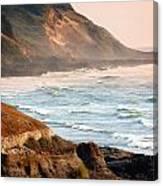 Magnificent Coast  Canvas Print