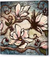 Magnolia Branch I Canvas Print