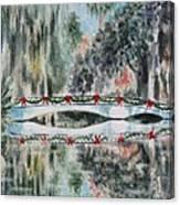 Magnolia Christmas Canvas Print