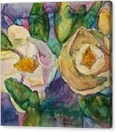 Magnolia Kaleidescope Canvas Print