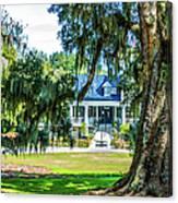 Magnolia Mansion Canvas Print