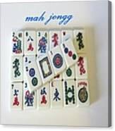 Mah-jongg 2013 Canvas Print