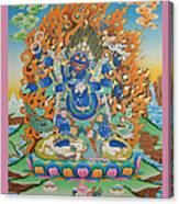Mahankal Thangka Art Canvas Print