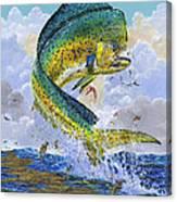 Mahi Hookup Off0020 Canvas Print