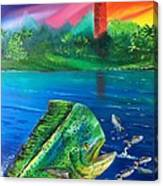 Mahi Mirror Canvas Print